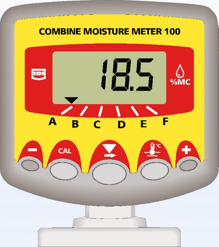 RDS CMM-100 nedvességmérő monitor