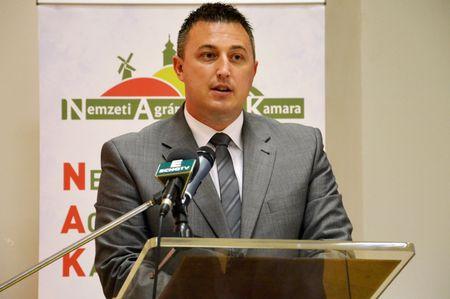 Győrffy Balázs, a NAK elnöke