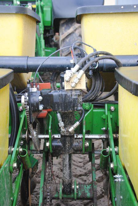 A traktorra szerelt soregység alkatrészek