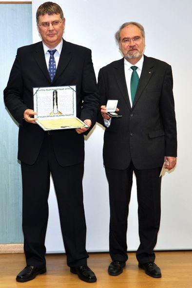 Harsányi Zsolt és Dr. Fenyvesi László