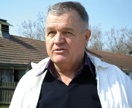 Császár György, a Hercegszántói Mezőgazdasági szövetkezet elnöke