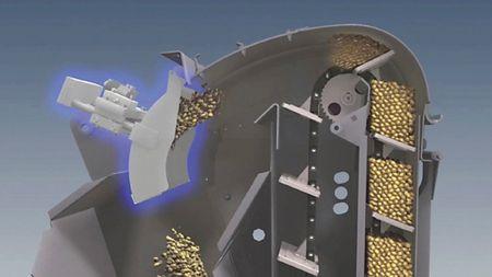 1. kép: ütközőlapos hozammérő szenzor