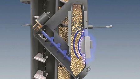 4.kép: állandó mintaterű szemnedvességmérő szenzor