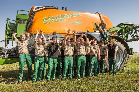 1032 hektár 24 óra alatt teljesítve – az Amazone csapata a világrekord után