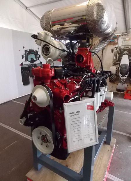 AGCO Power  AWF típusú motor  a már új pillangószeleppel és turbóval