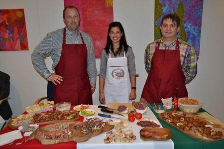 A mangalica promóció résztvevői a Magyar Szüret rendezvénysorozaton