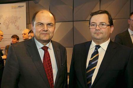Christian Schmidt német szövetségi élelmiszeripari és  mezőgazdasági miniszter és Béki Nándor agrárdiplomata