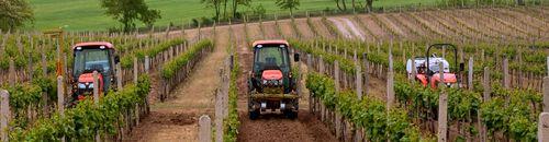 Kubota keskeny nyomtávú traktorok