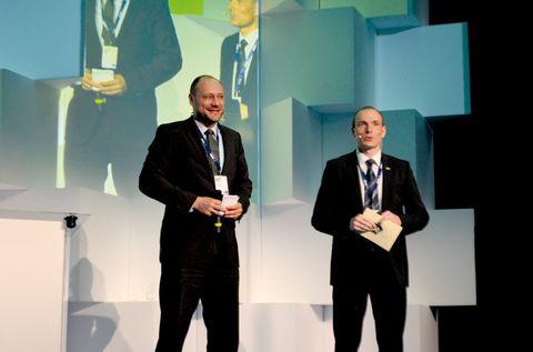 Christopf Hofmann és Krasznai Gábor