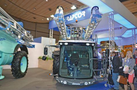 Az új Berthoud Raptor kabinja