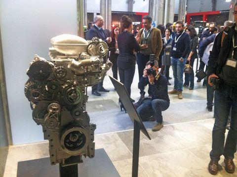 A 2014-ben bemutatott SAME FARMotion motor