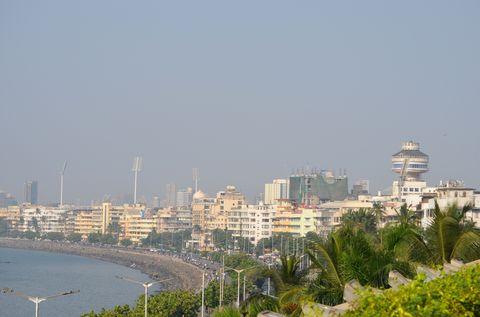 Mumbai látképe