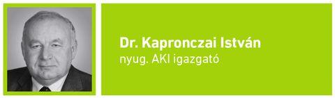 gazdaság_ Kapronczai István