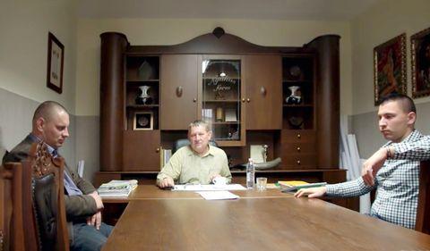 Képen balról jobbra: ifj. Nyakas András, Nyakas András, Nyakas Tamás