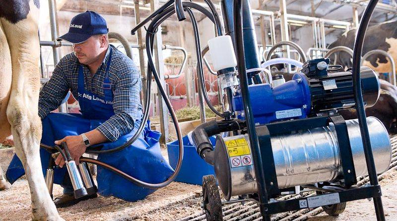 mobile milking unit-delaval