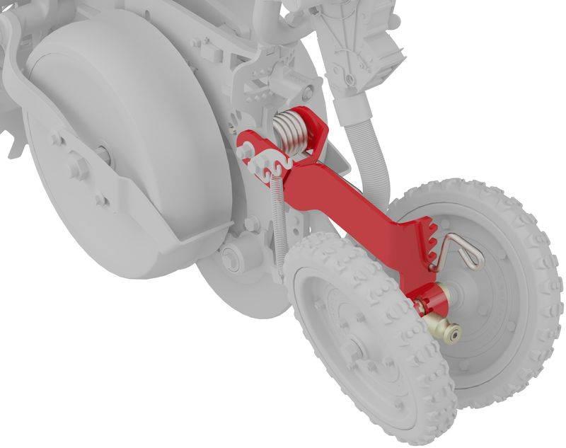 tempo - small seeds kit - adjustable closing wheel-kk