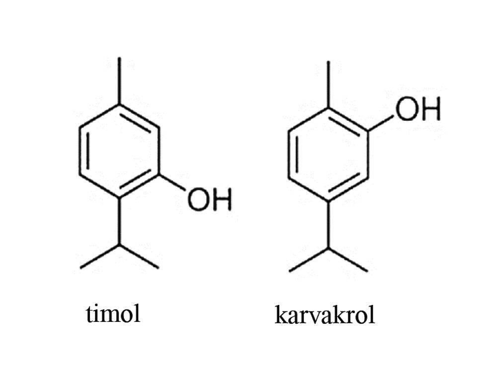 timol-karvakrol-vegyulet