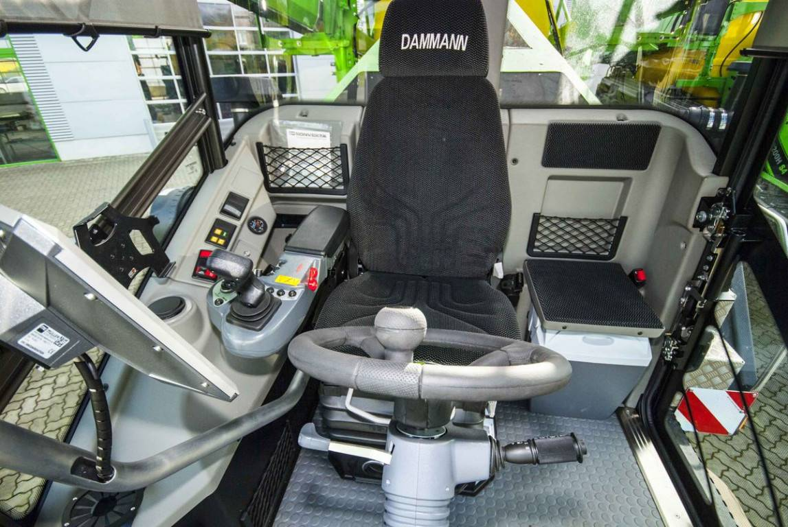 dammann-kabin belső