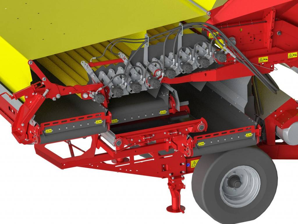 ©grimme_conveyor to merge soil cleaning - in operating postition-k