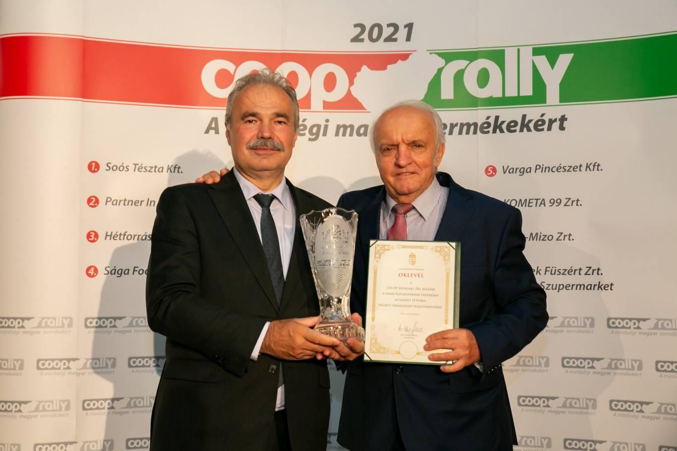 dr. nagy istván és pekó lászló a coop rally-2021